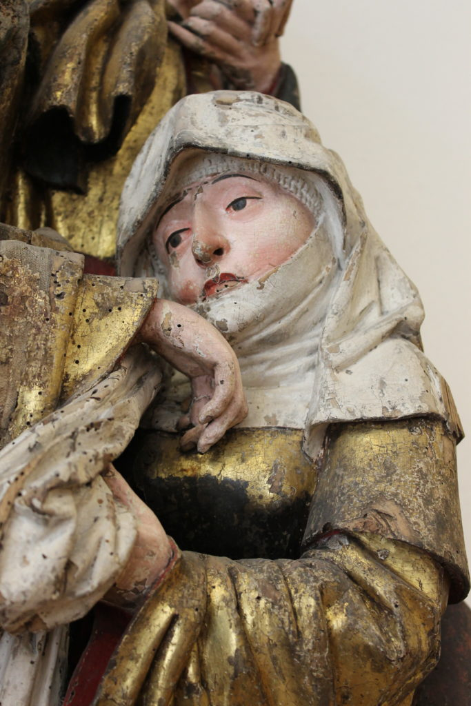 Detail of Beweinung Christi Mittlefranken, 1490-1500 Kronach, Inv# MA 1894 Photo by M.McNealy