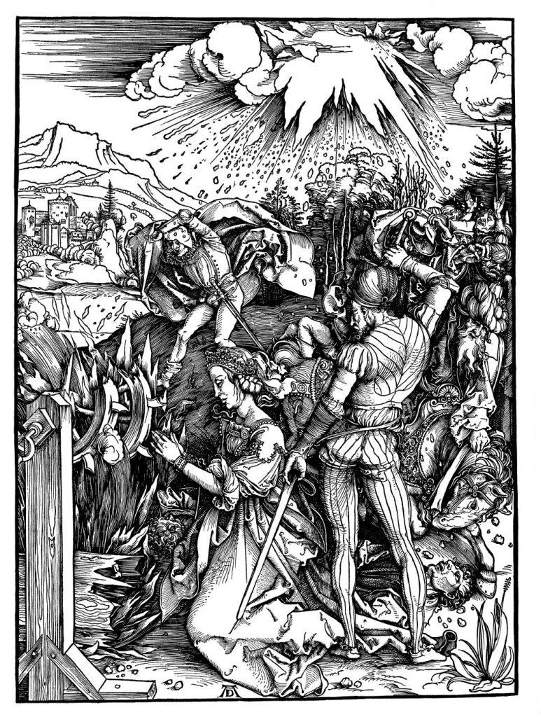 The Martyrdom of Saint Catherine,ca. 1498