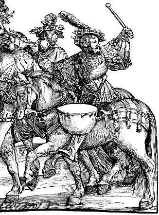 A German Horse Barding circa 1537