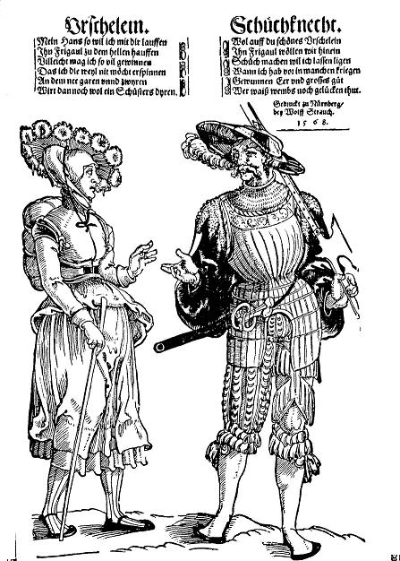 Lanquenet and Wife