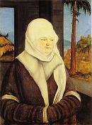 Elderly woman from Ruess family